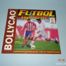 Coleccionismo deportivo: ANTIGUA ÁLBUM FUTBOL LIGA 96-97 DE BOLLYCAO CAMPEONATO NACIONAL DE LIGA 1996 1997. Lote 142598210