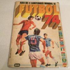 Coleccionismo deportivo: ALBUM ASES CAMPEONATO MUNDO FUTBOL 74 FHER-DISGRA MUNICH 74 WORLD CUP AUTOGRAFO CRUYFF NEESKENS ETC. Lote 142712750