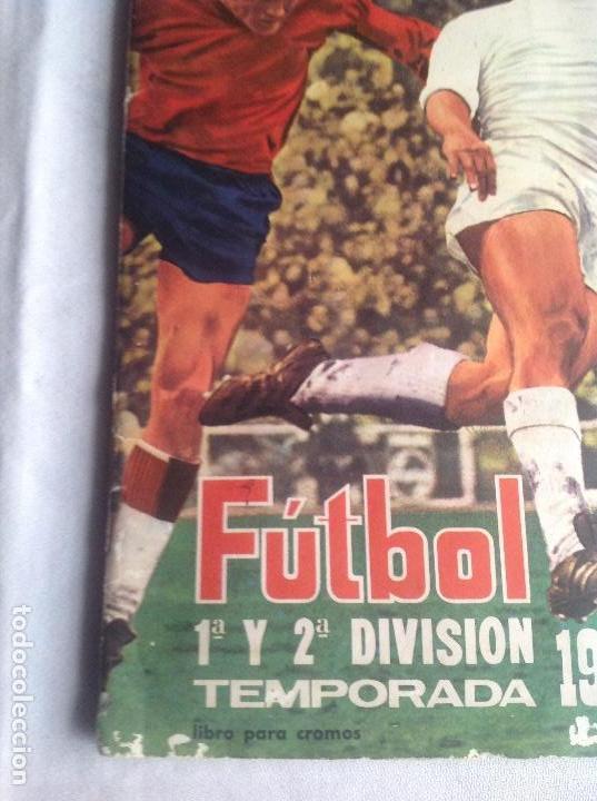 Coleccionismo deportivo: ALBUM CAMPEONATO DE LIGA 1968-69, 1 Y 2 DIVISIÓN, FHER, FALTAN 67 CROMOS. - Foto 2 - 142713114