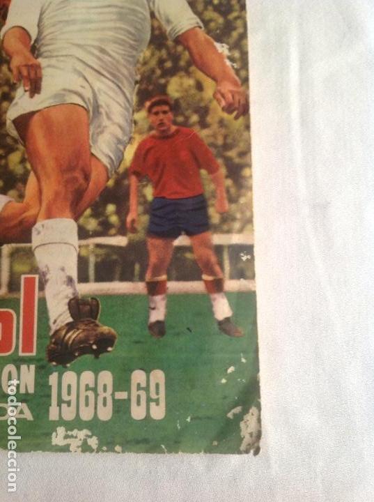 Coleccionismo deportivo: ALBUM CAMPEONATO DE LIGA 1968-69, 1 Y 2 DIVISIÓN, FHER, FALTAN 67 CROMOS. - Foto 3 - 142713114