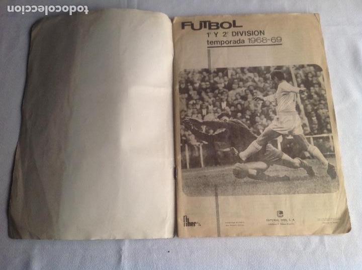 Coleccionismo deportivo: ALBUM CAMPEONATO DE LIGA 1968-69, 1 Y 2 DIVISIÓN, FHER, FALTAN 67 CROMOS. - Foto 6 - 142713114
