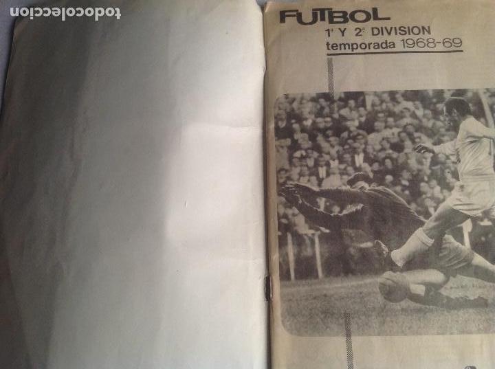 Coleccionismo deportivo: ALBUM CAMPEONATO DE LIGA 1968-69, 1 Y 2 DIVISIÓN, FHER, FALTAN 67 CROMOS. - Foto 7 - 142713114