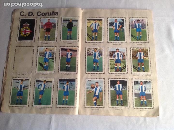 Coleccionismo deportivo: ALBUM CAMPEONATO DE LIGA 1968-69, 1 Y 2 DIVISIÓN, FHER, FALTAN 67 CROMOS. - Foto 13 - 142713114