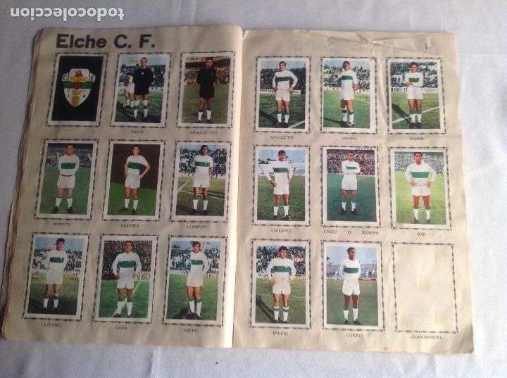 Coleccionismo deportivo: ALBUM CAMPEONATO DE LIGA 1968-69, 1 Y 2 DIVISIÓN, FHER, FALTAN 67 CROMOS. - Foto 14 - 142713114