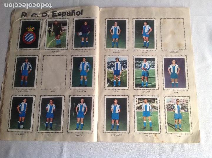 Coleccionismo deportivo: ALBUM CAMPEONATO DE LIGA 1968-69, 1 Y 2 DIVISIÓN, FHER, FALTAN 67 CROMOS. - Foto 15 - 142713114
