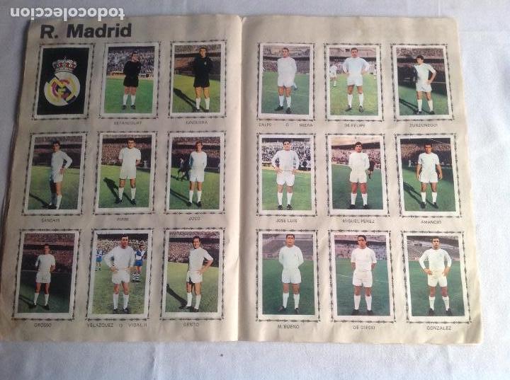 Coleccionismo deportivo: ALBUM CAMPEONATO DE LIGA 1968-69, 1 Y 2 DIVISIÓN, FHER, FALTAN 67 CROMOS. - Foto 21 - 142713114