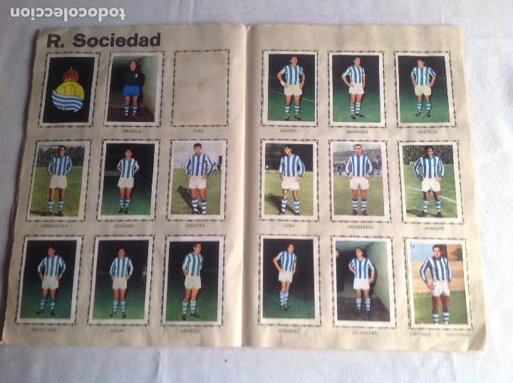 Coleccionismo deportivo: ALBUM CAMPEONATO DE LIGA 1968-69, 1 Y 2 DIVISIÓN, FHER, FALTAN 67 CROMOS. - Foto 22 - 142713114