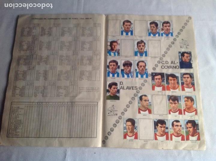 Coleccionismo deportivo: ALBUM CAMPEONATO DE LIGA 1968-69, 1 Y 2 DIVISIÓN, FHER, FALTAN 67 CROMOS. - Foto 29 - 142713114