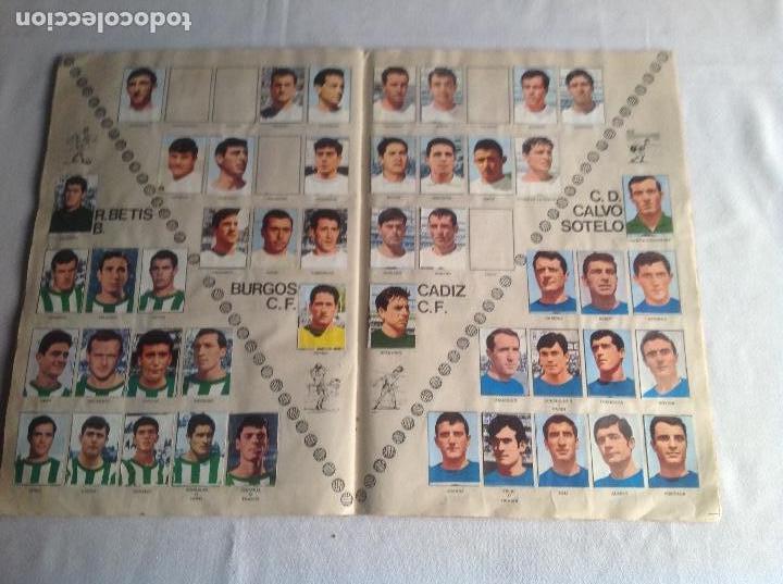 Coleccionismo deportivo: ALBUM CAMPEONATO DE LIGA 1968-69, 1 Y 2 DIVISIÓN, FHER, FALTAN 67 CROMOS. - Foto 30 - 142713114