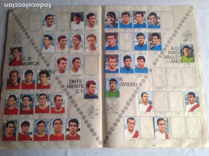 Coleccionismo deportivo: ALBUM CAMPEONATO DE LIGA 1968-69, 1 Y 2 DIVISIÓN, FHER, FALTAN 67 CROMOS. - Foto 33 - 142713114