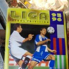Coleccionismo deportivo: ALBUM LIGA 95 96 1995 1996, EDITORIAL ESTE FALTA DE 10 FICHAJES. Lote 142894334