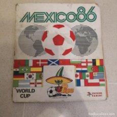 Coleccionismo deportivo: ALBUM PANINI FUTBOL WORLD CUP MEXICO 86 COMPLETO AL 85%. Lote 143152382