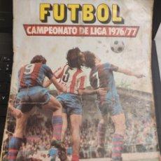 Coleccionismo deportivo: ALBUM CROMOS EDICIONES ESTE TEMPORADA 76-77 COMPLETO. Lote 143207190