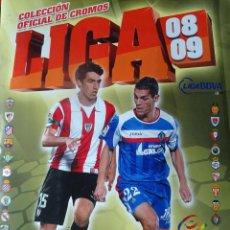Coleccionismo deportivo: ALBUM DE FUTBOL DEL CAMPEONATO NACIONAL DE LIGA BBVA TEMP. 2008/2009 EDITADO POR COLECCIONES ESTE. Lote 143389386