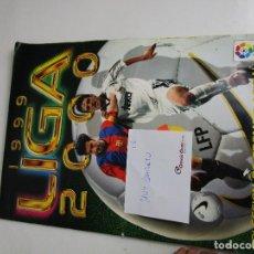 Coleccionismo deportivo: (LOTE 13) ALBUM CROMOS FUTBOL ESTE 1999 2000 MUY COMPLETO. Lote 143637810