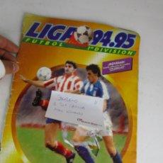 Coleccionismo deportivo: (LOTE 11) ALBUM CROMOS FUTBOL ESTE 1994 1995 COMPLETO. Lote 143638526