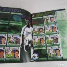 Coleccionismo deportivo: (LOTE 11) ALBUM CROMOS FUTBOL ESTE 2001 2002 AL 60%. Lote 143640318