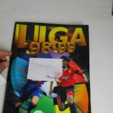 Coleccionismo deportivo: LOTE 5- ALBUM CROMOS FUTBOL ESTE 1998 1999 COMPLETO. Lote 143672378