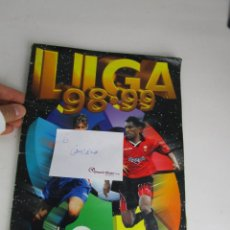 Coleccionismo deportivo: LOTE 6- ALBUM CROMOS FUTBOL ESTE 1998 1999 COMPLETO. Lote 143672506