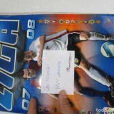 Coleccionismo deportivo: LOTE 24, ALBUM CROMOS FUTBOL ESTE 2007 2008. Lote 143709734