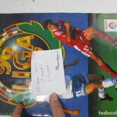 Coleccionismo deportivo: LOTE 24, ALBUM CROMOS FUTBOL ESTE 199601997 MUY COMPLETO!. Lote 143709922
