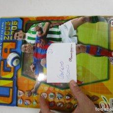 Coleccionismo deportivo: LOTE 21, ALBUM COMPLETO CROMOS FUTBOL ESTE 2005 2006. Lote 143710222