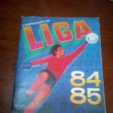 Coleccionismo deportivo: ALBUM CANO 84 85 CROMO FUTBOL LIGA 1984 1985 - VACIO CROMOS DESPEGADOS. Lote 143991086