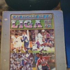 Coleccionismo deportivo: ÁLBUM CON 711 CROMOS DIFERENTES MUNDICROMO 96-97 (LEER DESCRIPCIÓN). Lote 143991946