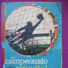 Coleccionismo deportivo: ALBUM CROMOS, CAMPEONATO MUNDIAL DE FUTBOL 1966, DISGRA, 239 CROMOS. Lote 144111454