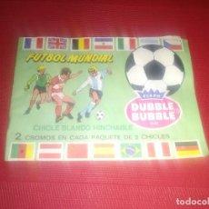 Coleccionismo deportivo: ALBUM FUTBOL MUNDIAL - DUBBLE BUBBLE GUM - CROMOS DE CHICLES - CON 15 CROMOS - 1982. Lote 144271462