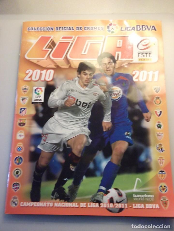 ALBUM LIGA 2010 2011. LIGA BBVA. PANINI (Coleccionismo Deportivo - Álbumes y Cromos de Deportes - Álbumes de Fútbol Incompletos)