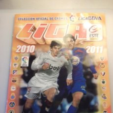 Coleccionismo deportivo: ALBUM LIGA 2010 2011. LIGA BBVA. PANINI. Lote 144496326