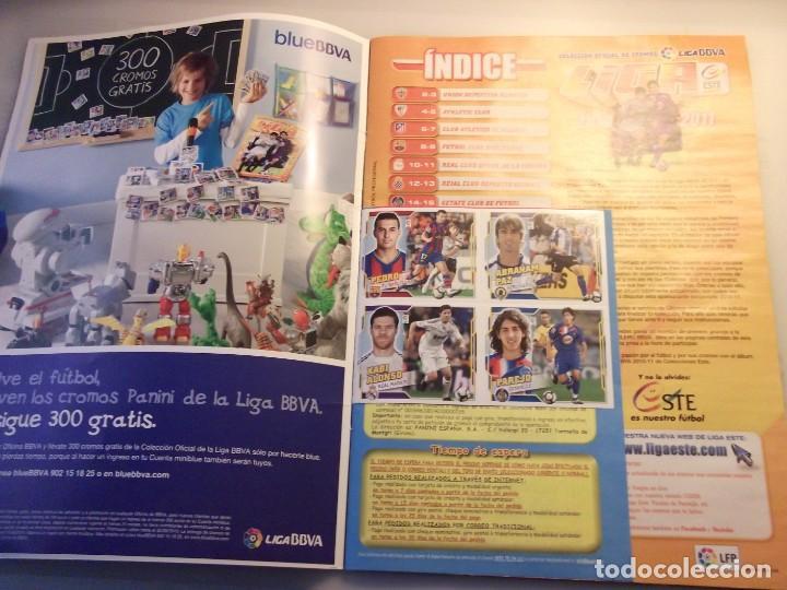 Coleccionismo deportivo: ALBUM LIGA 2010 2011. LIGA BBVA. PANINI - Foto 2 - 144496326