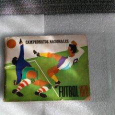 Coleccionismo deportivo: ALBUM RUIZ ROMERO FUTBOL CAMPEONATOS NACIONALES PRIMERA DIVISION 1970 A FALTA DE SOLO 20 CROMOS. Lote 144765578