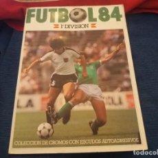 Coleccionismo deportivo: CROMOS CANO CROPAN ALBUM FUTBOL 84 CASI VACIO O PLANCHA VERSION PORTADA 84. LEER. Lote 145704838