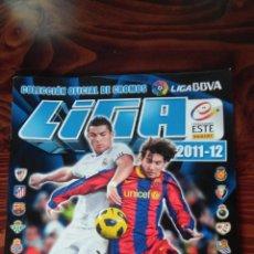 Coleccionismo deportivo: ALBUL CROMOS INCOMPLETO LIGA 2011 2012 BBVA LFP COLECCIONES ESTE PANINI. Lote 145735054