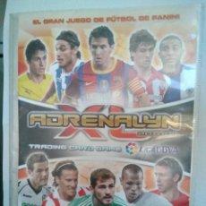 Coleccionismo deportivo: ALBUM ADRENALYN 2010 2011, CON 20 FALTAS. Lote 145905398