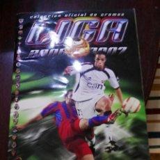 Coleccionismo deportivo: ALBUM DE CROMOS LIGA ESTE 2006 - 2007 06 - 07 CON 360 PEGADOS. Lote 145994826