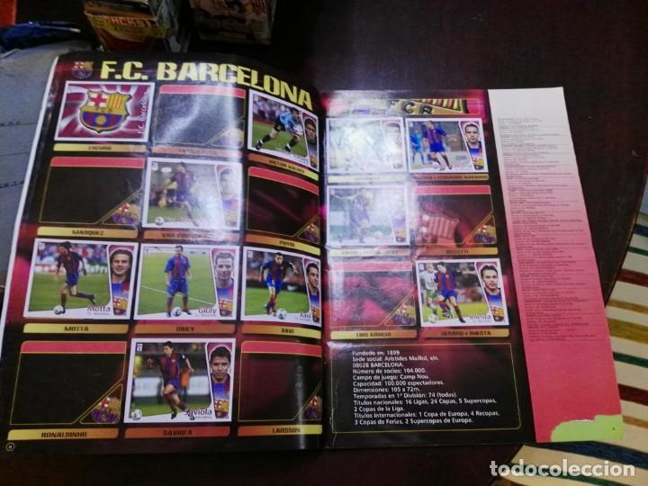 Coleccionismo deportivo: album de cromos liga este 2004 - 2005 04 - 05 con 231 pegados - Foto 2 - 146003142