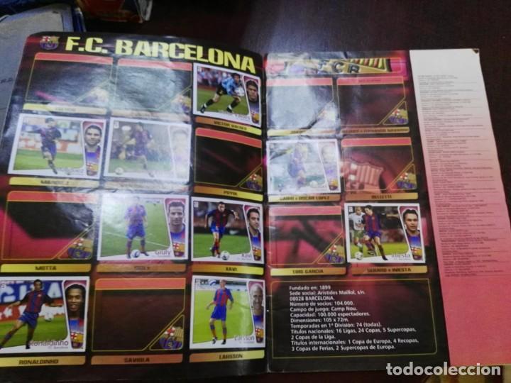 Coleccionismo deportivo: album de cromos liga este 2004 - 2005 04 - 05 con 158 pegados - Foto 3 - 146003866