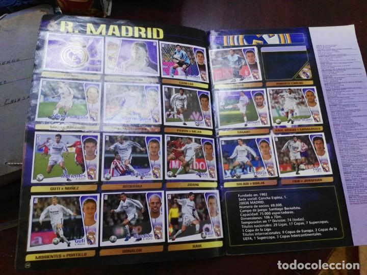 Coleccionismo deportivo: album de cromos liga este 2004 - 2005 04 - 05 con 283 pegados - Foto 3 - 146004994