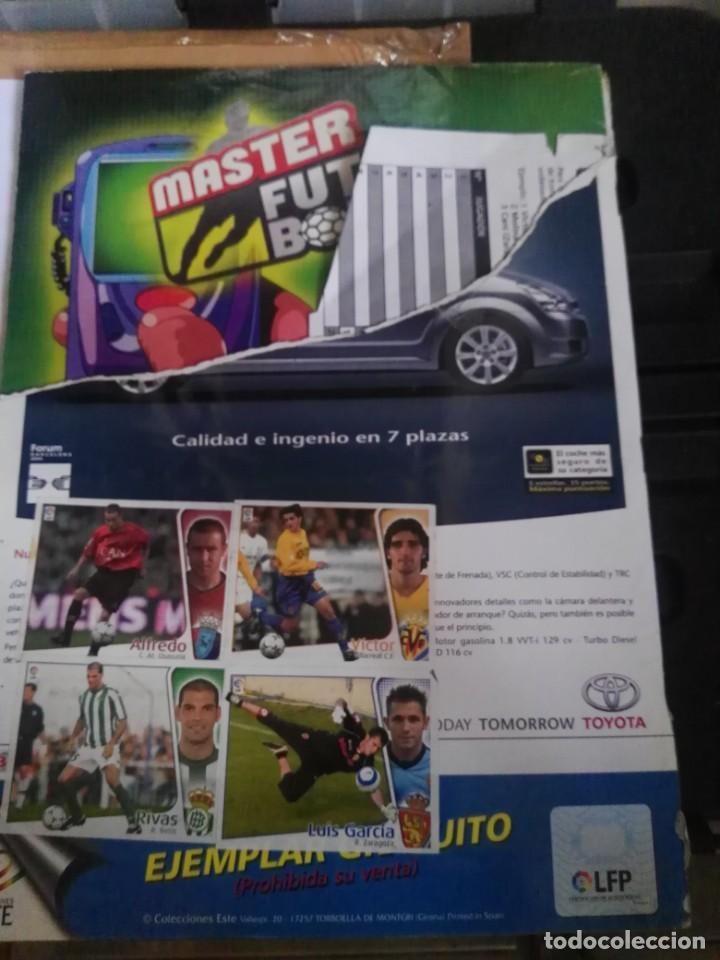 Coleccionismo deportivo: album de cromos liga este 2004 - 2005 04 - 05 con 283 pegados - Foto 6 - 146004994