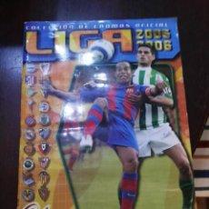 Coleccionismo deportivo: ALBUM DE CROMOS LIGA ESTE 2005 - 2006 05 - 06 CON 317 PEGADOS. Lote 146006010