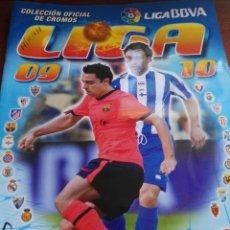 Coleccionismo deportivo: ALBUM DE CROMOS LIGA ESTE 2009 - 2010 09 - 10 CON 179 PEGADOS. Lote 146010898