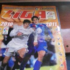 Coleccionismo deportivo: ALBUM DE CROMOS LIGA ESTE 2010 - 2011 10 - 11 CON 427 PEGADOS. Lote 146015106