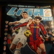 Coleccionismo deportivo: ALBUM DE CROMOS LIGA ESTE 2011 - 2012 11 - 12 CON 364 PEGADOS. Lote 146142738