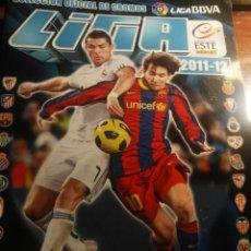 Coleccionismo deportivo: ALBUM DE CROMOS LIGA ESTE 2011 - 2012 11 - 12 CON 224 PEGADOS. Lote 146152734