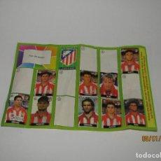 Coleccionismo deportivo: ÁLBUM DEL AT. MADRID DEL CHICLE LA LIGA DE LAS ESTRELLAS CAMPEONATO NACIONAL DE LIGA 1996 - 1997. Lote 146304526
