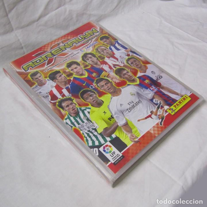 ALBUM ARCHIVADOR ADRENALYN PANINI 2013 2014. DEL Nº 1 AL 450 + 24 DE NUMERACIÓN MAYOR DEL 450. (Coleccionismo Deportivo - Álbumes y Cromos de Deportes - Álbumes de Fútbol Incompletos)