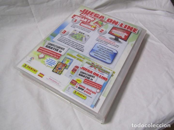 Coleccionismo deportivo: Album archivador Adrenalyn Panini 2013 2014. Del nº 1 al 450 + 24 de numeración mayor del 450. - Foto 2 - 146305538